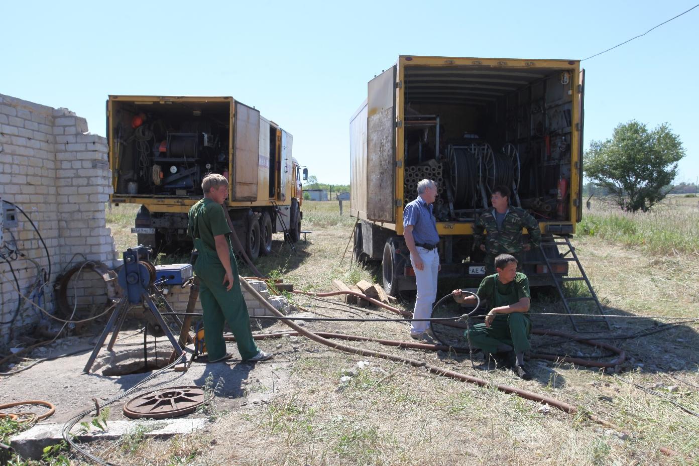 видеообследование скважин на воду в Нижегородской области