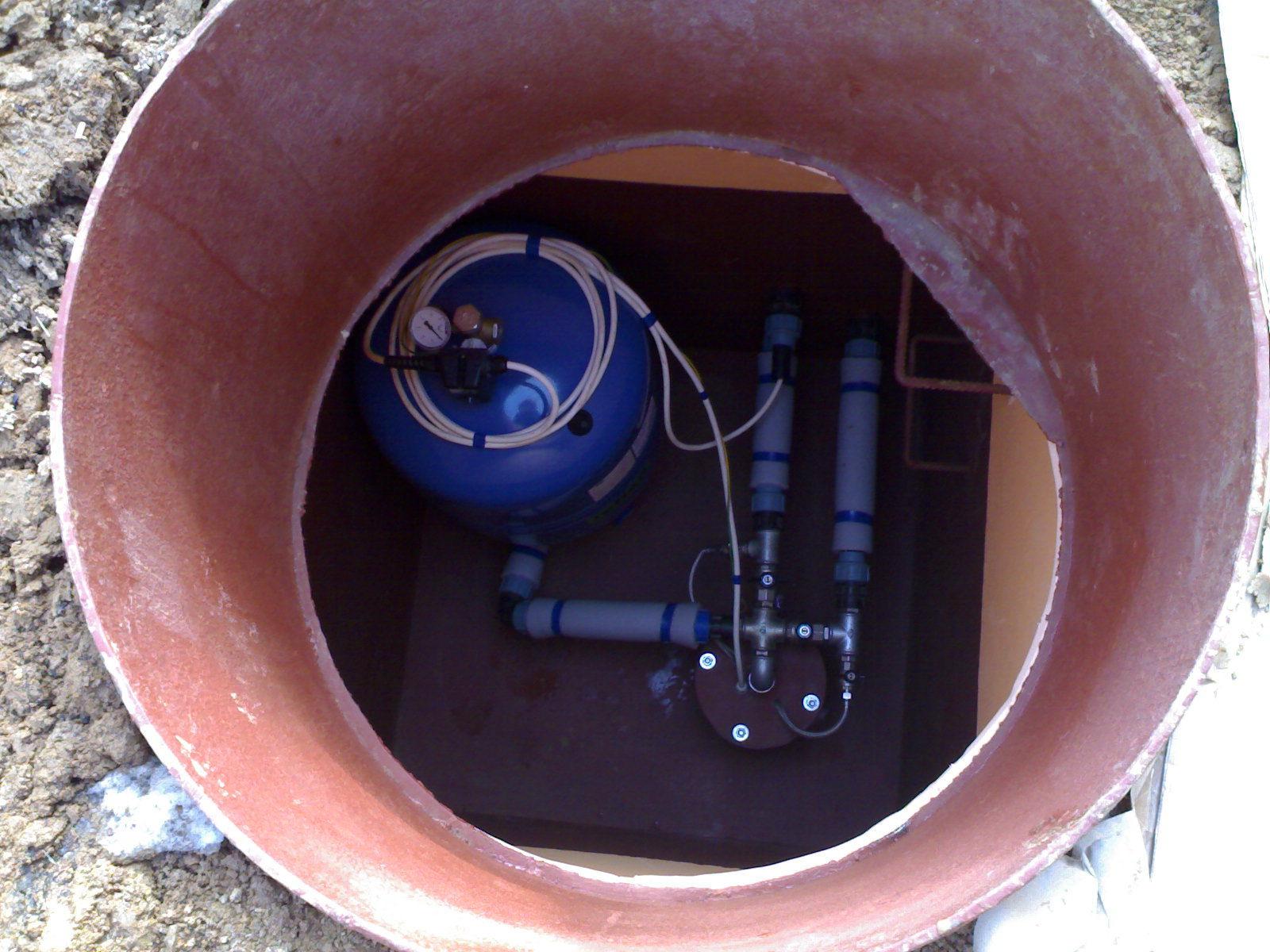 Оборудование скважины своими руками фото
