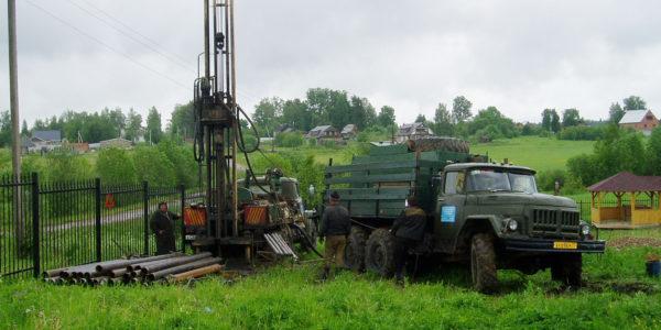 бурение скважины на известняк в Нижегородской области