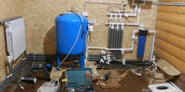 обустройство системы водоснабжения в доме Княгининский район