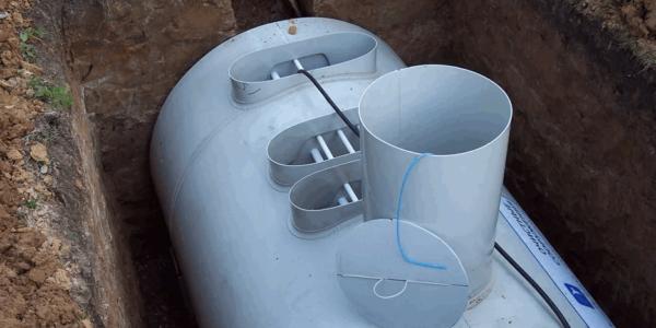 обустройство системы канализации в частном доме Краснобаковский район