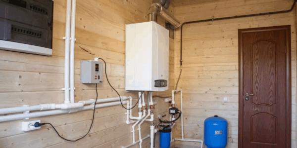 обустройство системы отопления в частном доме Краснобаковского района