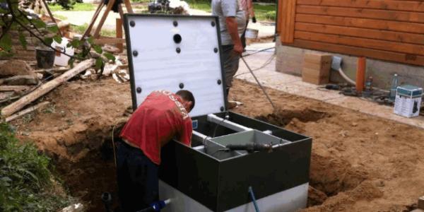монтаж канализации в доме Первомайск
