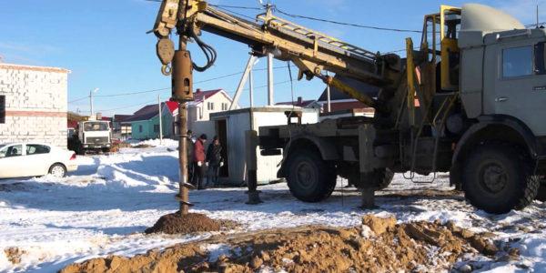 бурение скважин под сваи в Семенове