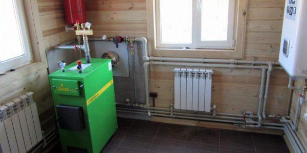 монтаж отопления для частного дома в городе Семенов