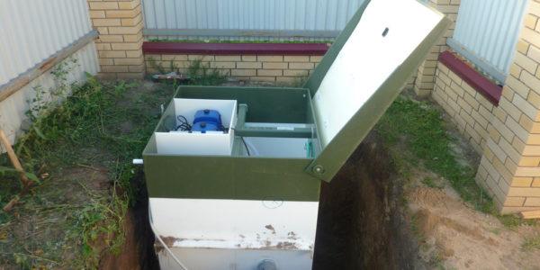 монтаж септика в Пильне для загородного дома
