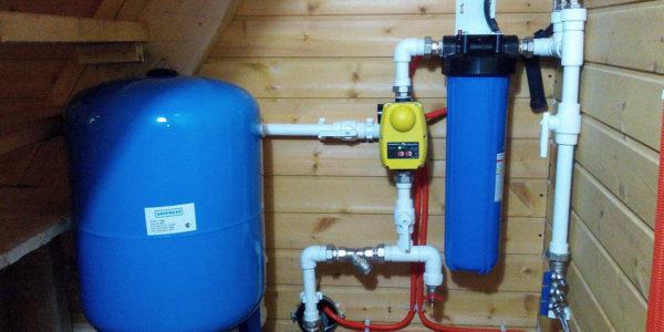 монтаж системы водоснабжения в Сергаче