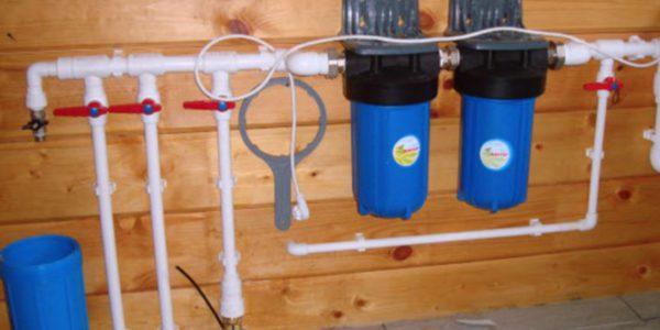 монтаж системы водоснабжения в доме Семеновский район