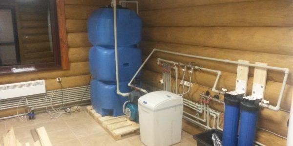 монтаж системы водоснабжения для дома в Пильне