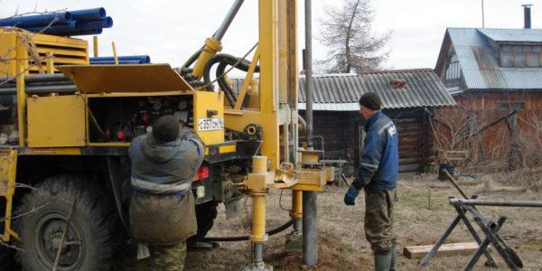 Бурение скважин в поселке Сокольское