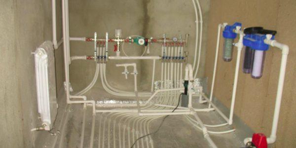 монтаж водоснабжения в Спасском районе