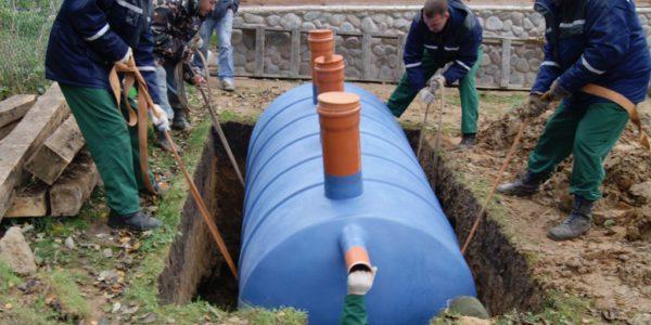 монтаж септиков и канализации в Сокольском районе