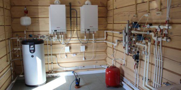 монтаж системы отопления в Сосновском районе