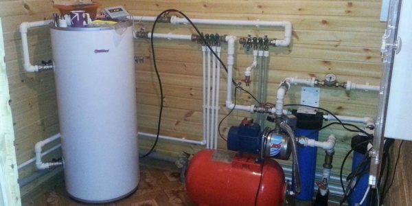 монтаж водоснабжения в Шаранге