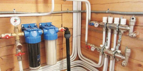 монтаж водоснабжения в частном доме Тонкино
