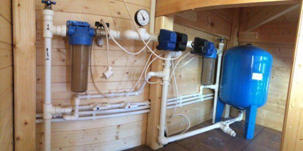 устновка водоснабжения в Тонкино