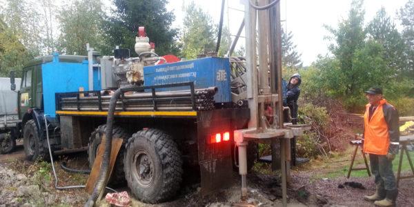 бурение скважины на воду в Шахунье