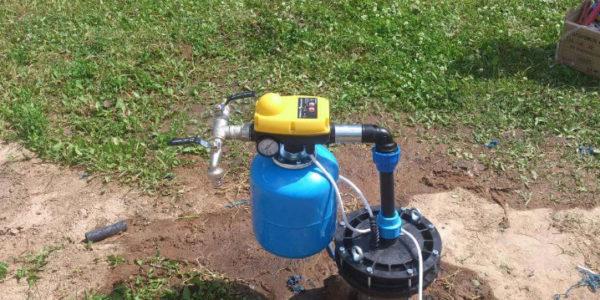 обустройство скважин на воду в Верхнеландеховском районе