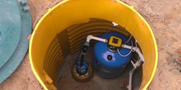обустройство скважин на воду в поселке Ермишь