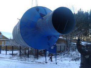 Монтаж водонапорных башен в Нижнем Новгороде